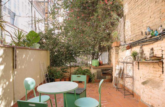 Piso con terraza Enrique Granados